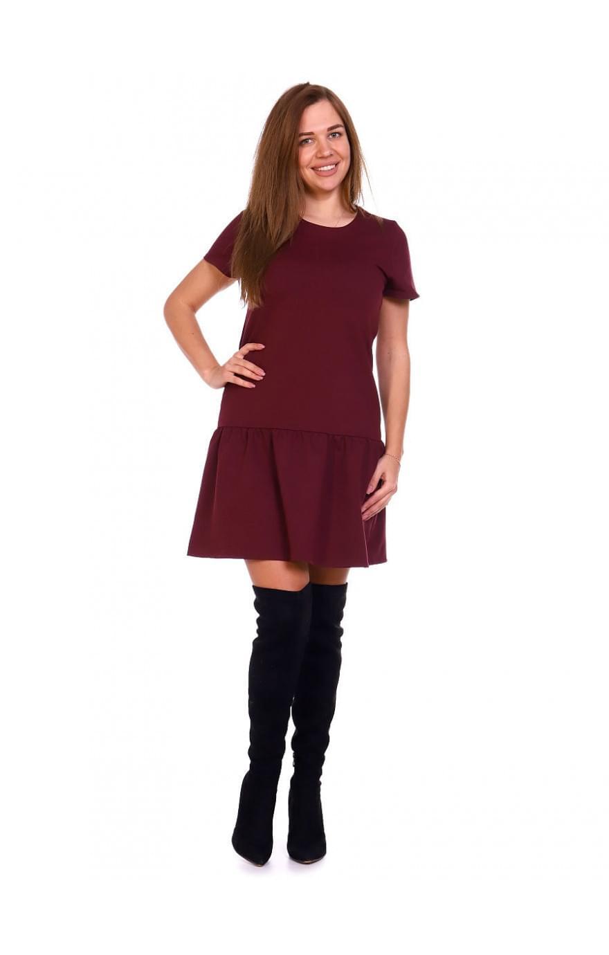 Платье Дейзи,бордо