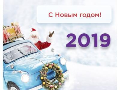 C Новым годом 2019 !