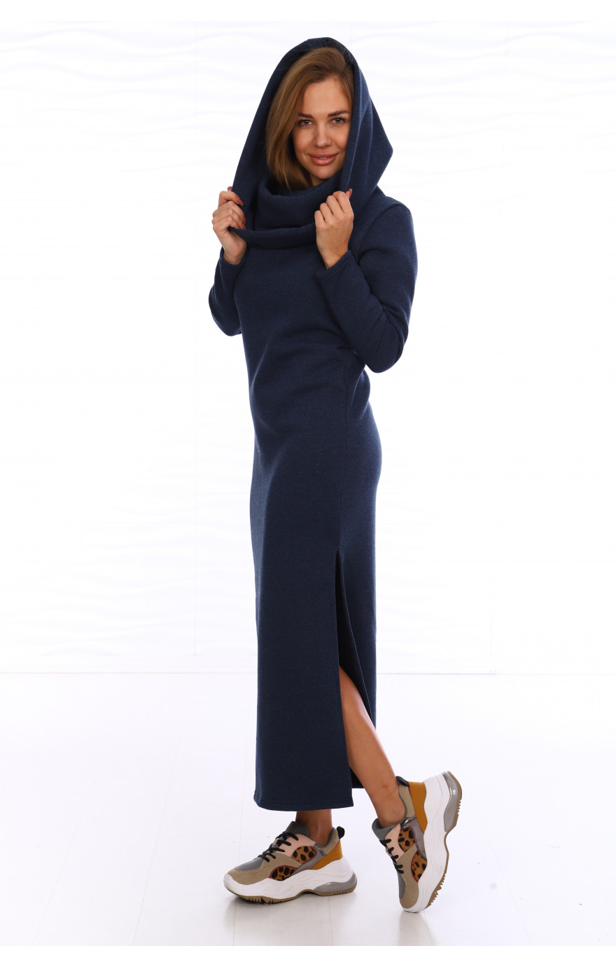 Платье Стайл (темно-синее)