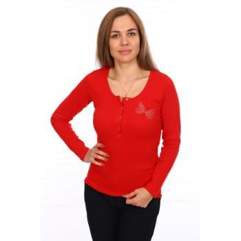 Лонгслив Саманта (красная)