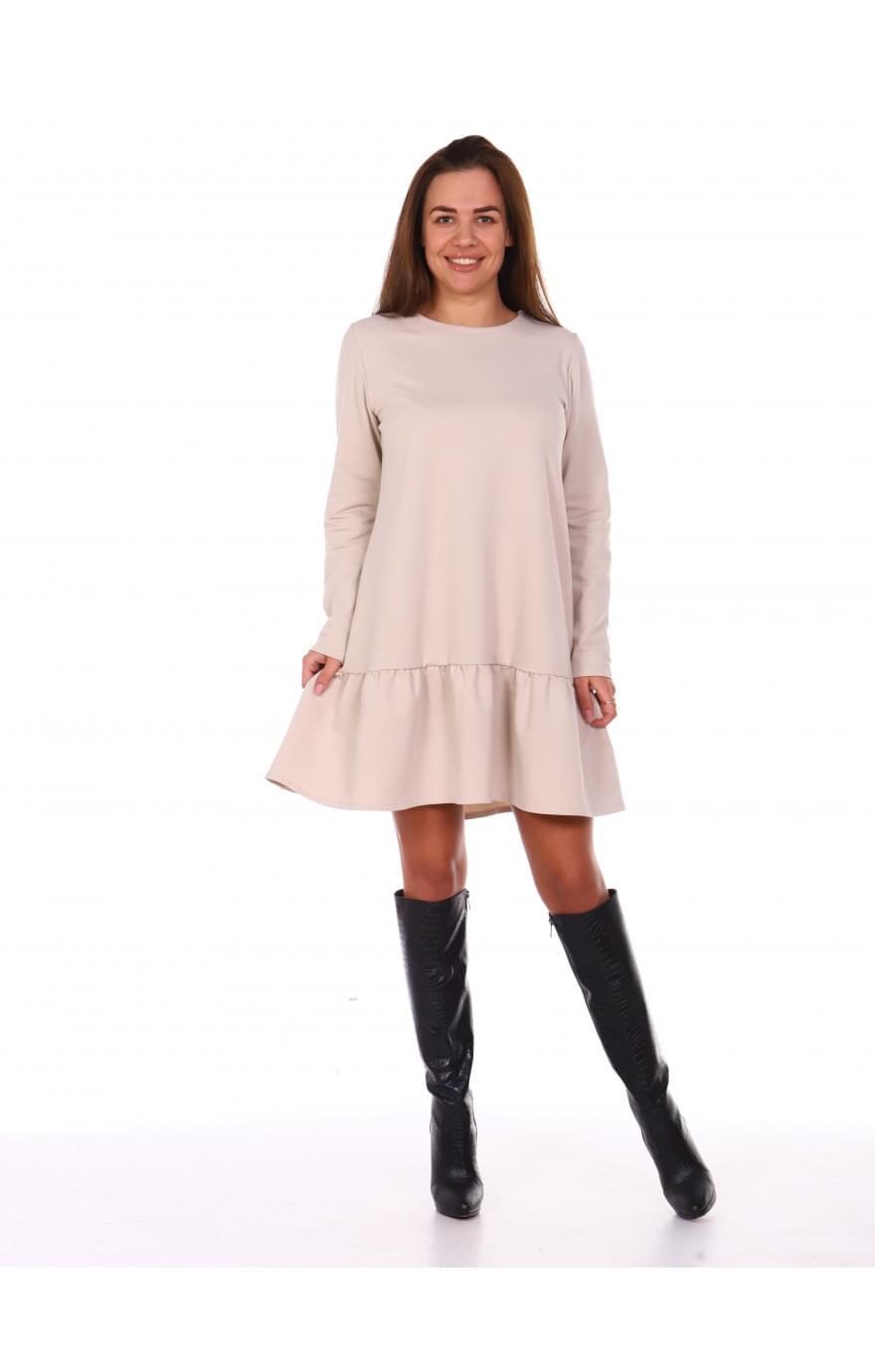 Платье Асоль ( бежевое )