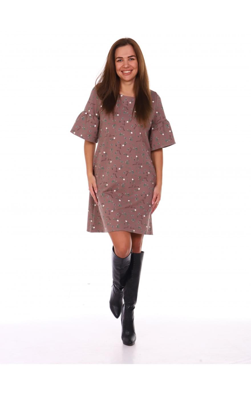 Платье Карина-2 (коричневый)