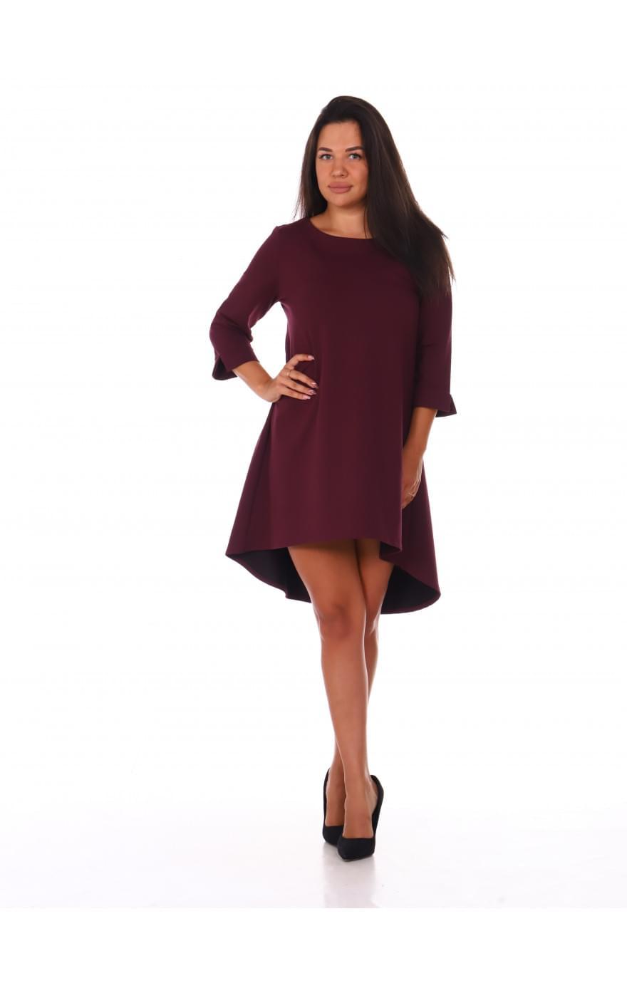 Платье Алина ( бордовое )