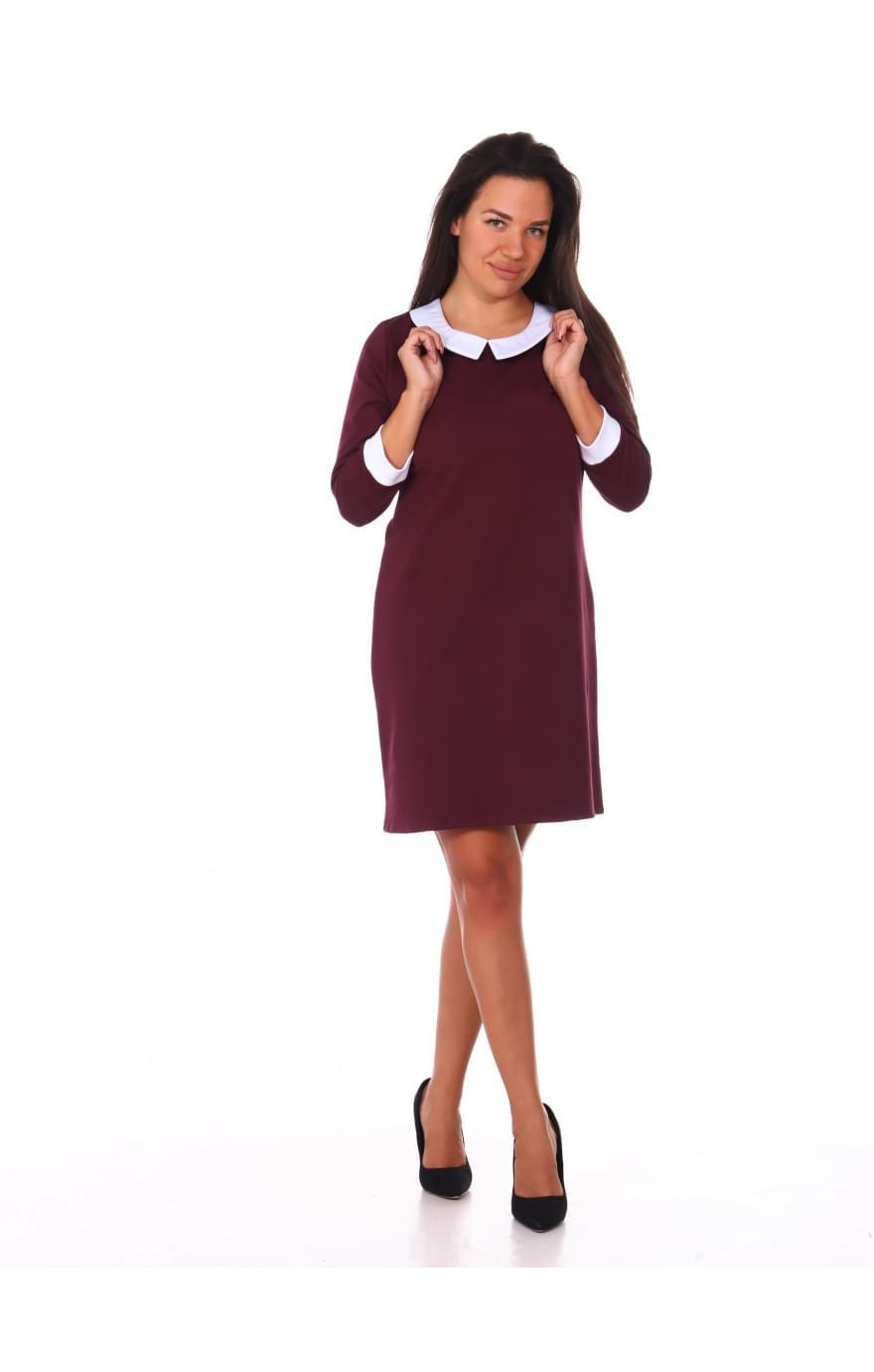 Платье Агата(бордо)