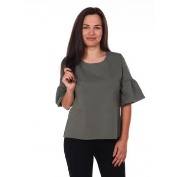 Блуза Уна,олива