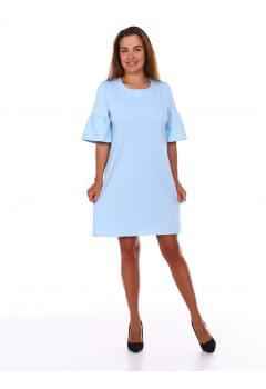 Платье Валли(голубое)