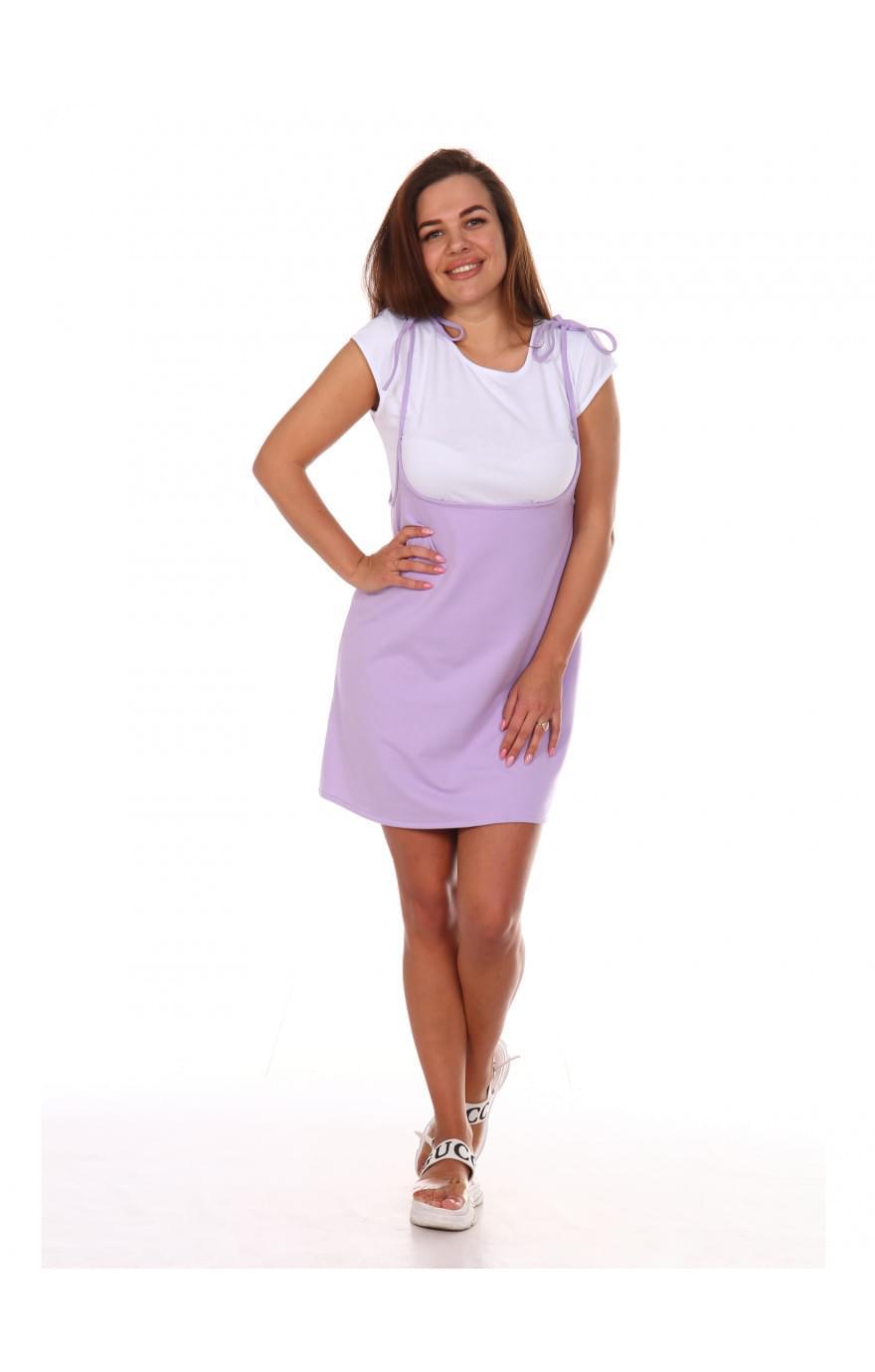 Сарафан Люси,фиолетовый, 552ф