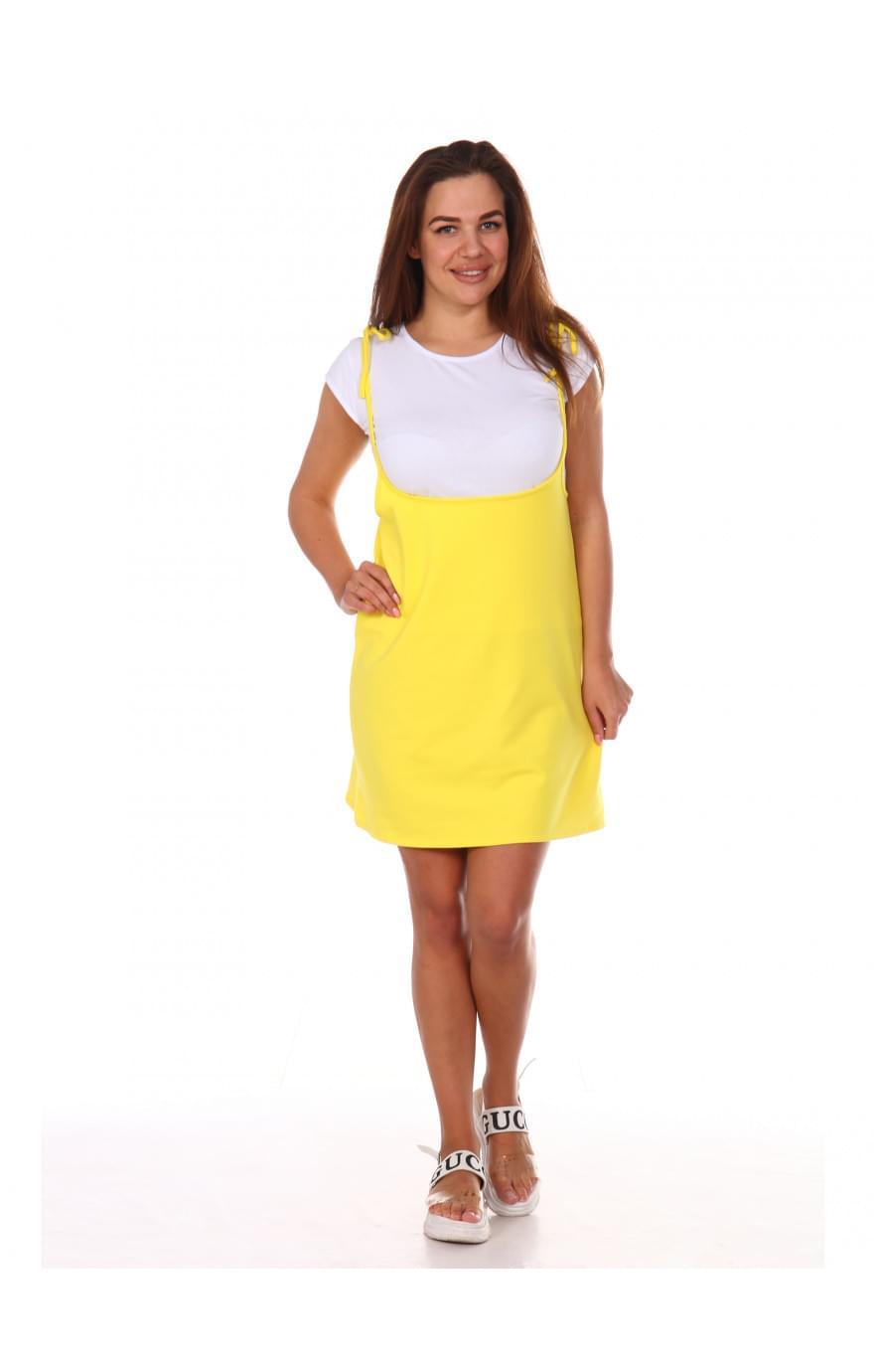 Сарафан Люси,жёлтый, 552ж