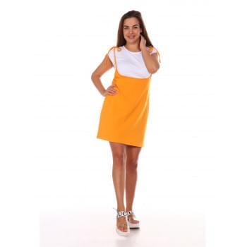 Сарафан Люси,оранжевый