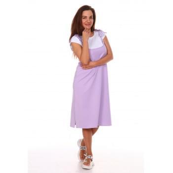 Сарафан Люси-2,фиолетовое