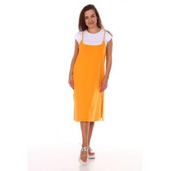 Сарафан Люси-2,оранжевое