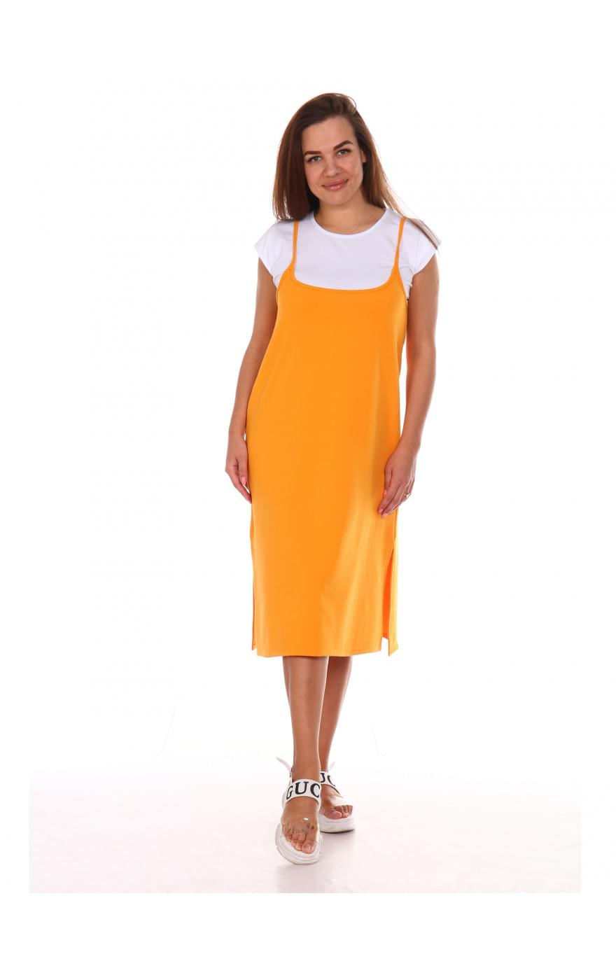 Сарафан Люси-2,оранжевое, 551ор