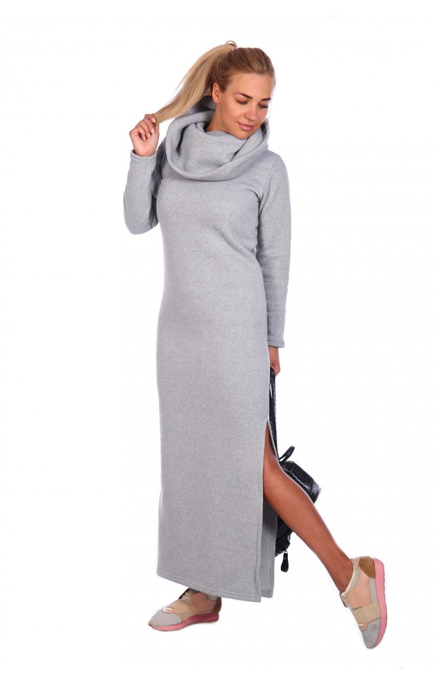 Платье Стайл (серое)